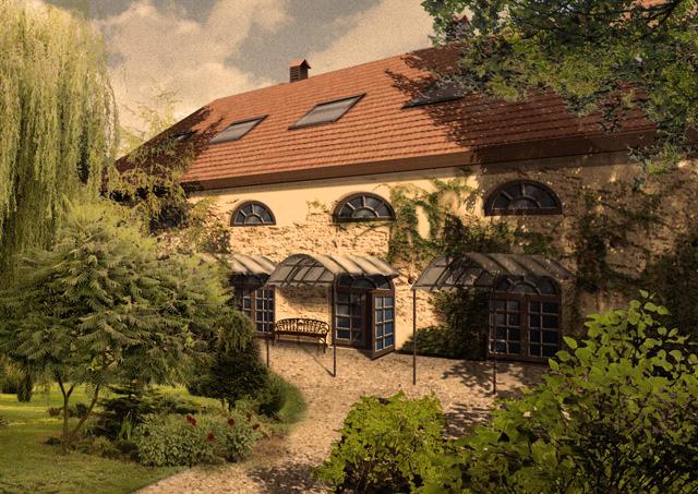 Gutshof gutshaus herrenhaus Mazuren Ermland  bauernhof manor house Altersheim Bauernwirtschaft