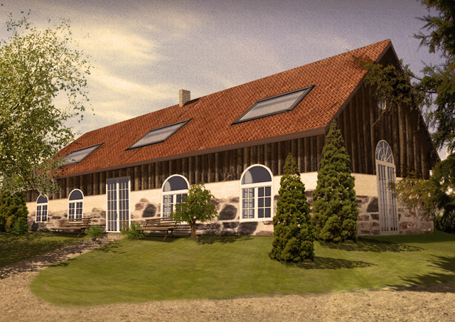 manor house mansion property grange in Poland for sale farm house